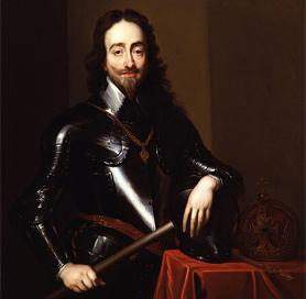 King Charles I by Sir Anthony Van Dyck